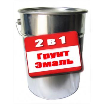 Грунт-эмаль Gaia 2 в 1 антикоррозионная 25кг  фото, цена, купить Харьков