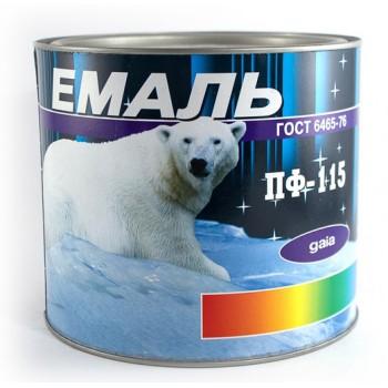 Эмаль Gaia ПФ-115 2,5кг фото, цена, купить Харьков