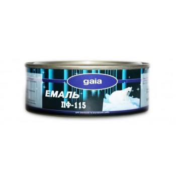 Эмаль Gaia ПФ-115 0,2кг фото, цена, купить Харьков