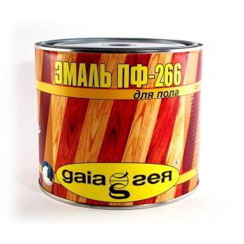 Эмаль Gaia ПФ-266 2,5кг фото, цена, купить Харьков
