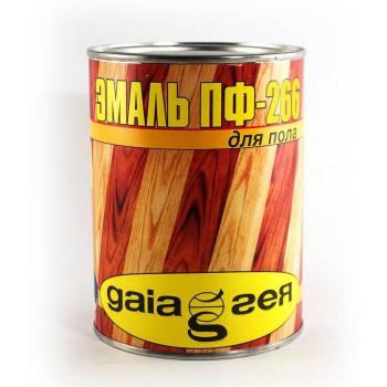 Эмаль Gaia ПФ-266 0,9кг фото, цена, купить Харьков