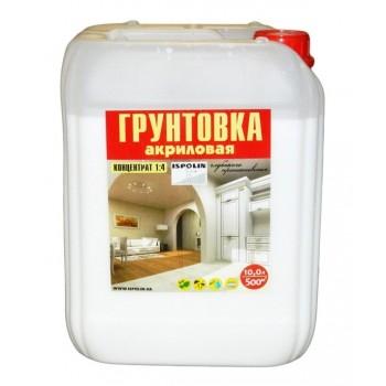 Грунтовка Gaia акриловая строительная 5кг фото, цена, купить Харьков
