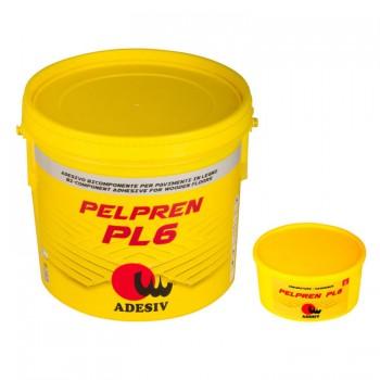 Полиуретановый паркетный клей Pelpren PL6 (10кг) Двухкомпонентный клей для паркета  Adesiv (Адезив, Италия) фото, цена, купить Харьков