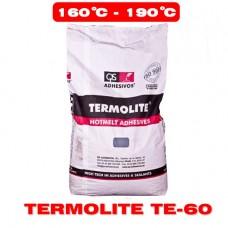 Среднетемпературний (ТЕ-60) 25кг клей-расплав для кромкооблицовывания ТЕРМОЛАЙТ (TERMOLITE ТЕ-60)