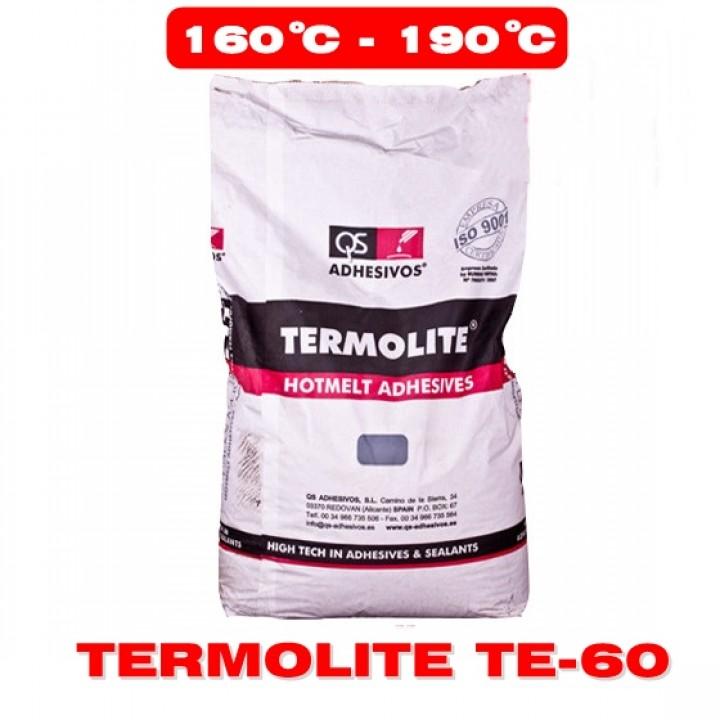 Клей-расплав TERMOLITE TE-60 25кг (Среднетемпературный) фото, цена, купить в Харькове