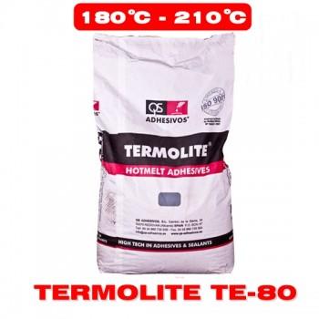 Клей-расплав QS Adhesivos S.L. TERMOLITE TE-80 25кг (Высокотемпературный) фото, цена, купить Харьков