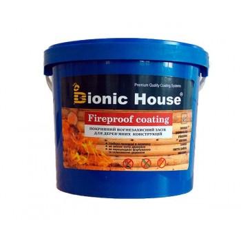 """Огнебиозащитная краска Bionic-House """"FIREPROOF COATING"""" 10л фото, цена, купить Харьков"""