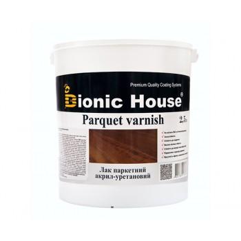 Лак паркетный Bionic-House (акрил-уретановый) 2,5л фото, цена, купить Харьков