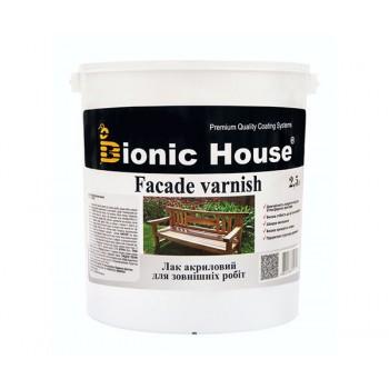 Лак для наружных работ Bionic-House (водорастворимый) 2,5л фото, цена, купить Харьков