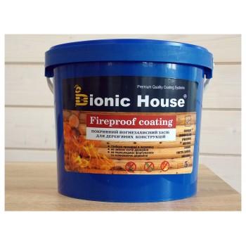 "Огнебиозащитная краска Bionic-House ""FIREPROOF COATING"" 5кг фото, цена, купить Харьков"