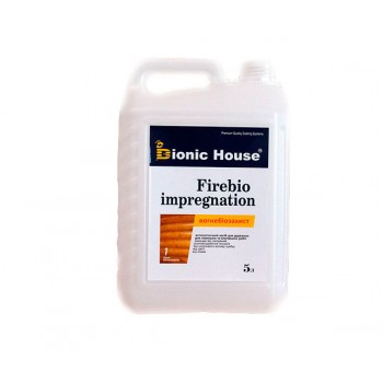 """Огнебиозащитная пропитка Bionic-House """"FIREBIO IMPREGNATION"""" 5л фото, цена, купить Харьков"""