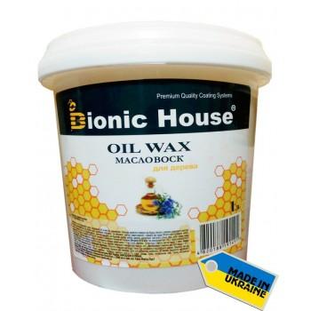 """Масло с твердым воском Bionic-House для паркета """"Hard wax oil"""" 1л фото, цена, купить Харьков"""