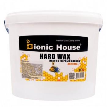 """Масло с твердым воском Bionic-House для паркета """"Hard wax oil"""" 10л фото, цена, купить Харьков"""