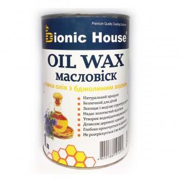 Масло-Воск Bionic-House (Продукт на базе натуральных масел и восков для обработки древесины) 1л фото, цена, купить Харьков