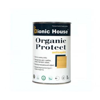 """Антисептик для дерева Bionic-House """"ORGANIC PROTECT"""" 1,0л фото, цена, купить Харьков"""