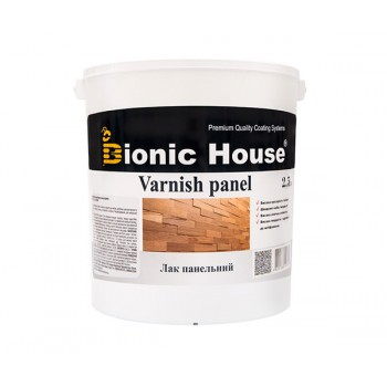 Лак Панельный Bionic-House (Водорастворимый лак для внутренних работ) 2,5л фото, цена, купить Харьков