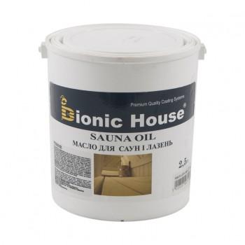Масло для саун Bionic-House 2,5л фото, цена, купить Харьков
