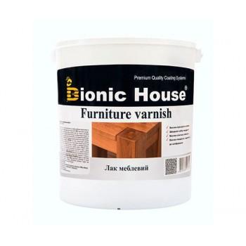 Лак Мебельный Bionic-House (Водорастворимый лак для внутренних работ) 10л фото, цена, купить Харьков