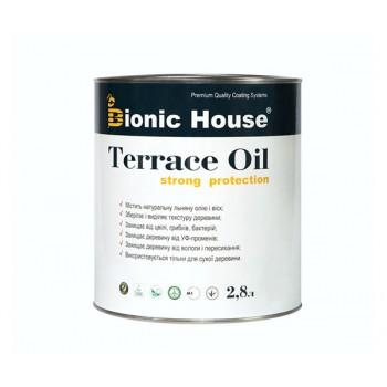 """Масло террасное Bionic-House """"TERRACE OIL"""" 2,8л фото, цена, купить Харьков"""