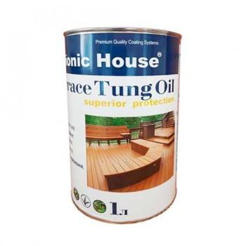 Масло террасное тунговое «Terrace Tung oil» Bionic House (Бионик Хаус) 1 л фото, цена, купить Харьков