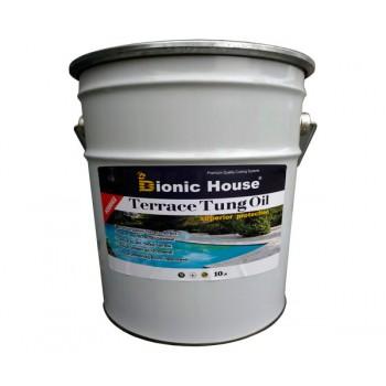 Масло террасное тунговое «Terrace Tung oil» Bionic House (Бионик Хаус) 10 л фото, цена, купить Харьков