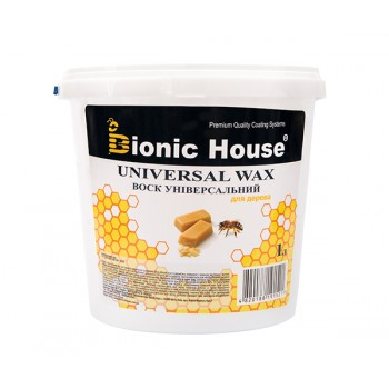 Воск универсальный Bionic-House (Натуральный пчелиный воск) 1л фото, цена, купить Харьков