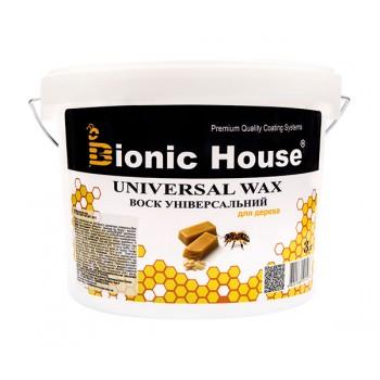 Воск универсальный Bionic-House (Натуральный пчелиный воск) 3л фото, цена, купить Харьков