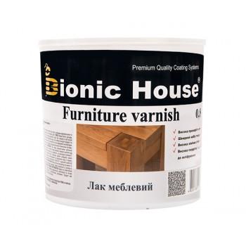 Лак Мебельный Bionic-House (Водорастворимый лак для внутренних работ) 0,8л фото, цена, купить Харьков