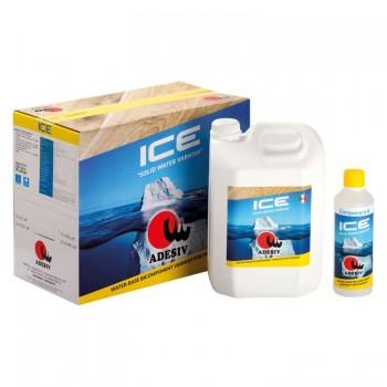 Лак паркетный двухкомпонентный ICE (5,5л) фото, цена, купить Харьков