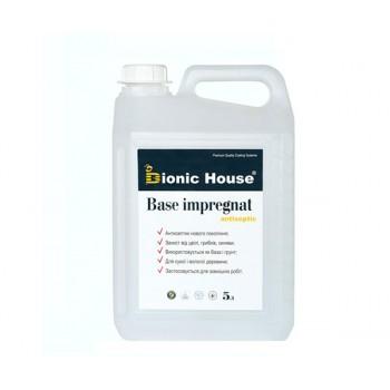 "Антисептик для дерева Bionic-House ""BASE IMPREGNAT"" (концентрат 1:10) 5,0л фото, цена, купить Харьков"